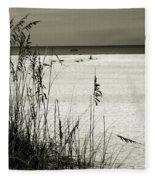 Sanibel Island Florida Fleece Blanket