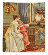 Santa's Gifts Fleece Blanket