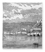 Santiago De Cuba, 1853 Fleece Blanket