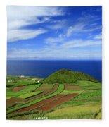 Sao Miguel - Azores Islands Fleece Blanket