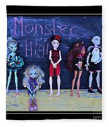 Sarah's Monster High Collection Fleece Blanket