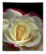 Sarah's Rose Fleece Blanket