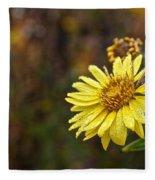 Saturday Sunshine Fleece Blanket