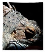 Scales And Spikes Fleece Blanket