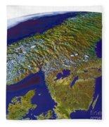 Scandinavia Fleece Blanket