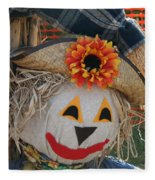 Scarecrow Annie Fleece Blanket