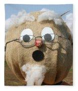 Scarecrow Gramps Fleece Blanket
