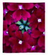 Scarlet Bouquet  Fleece Blanket