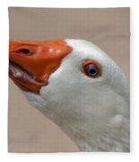 Scary Goose Fleece Blanket