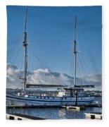 Schooner 8 Fleece Blanket