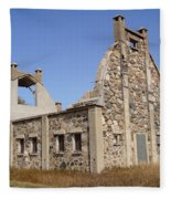 Schott Stone Barn Fleece Blanket