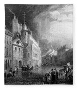 Scotland: Aberdeen, 1833 Fleece Blanket