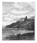 Scotland: Dunrobin Castle Fleece Blanket