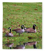Scott Lake Visitation Fleece Blanket