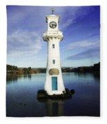 Scott Memorial Lighthouse 2 Fleece Blanket