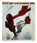 Scottsboro Boys, 1934 Fleece Blanket