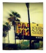 Screen Actors Guild In La Fleece Blanket