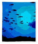 Scuba Dive Fleece Blanket