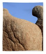 Sculpted Rock Fleece Blanket