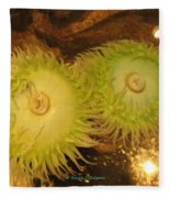 Sea Anemone Fleece Blanket