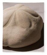 Sea Biscuit Clypeaster Rosaceus Fleece Blanket