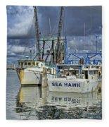 Sea Hawk Under Cover Fleece Blanket