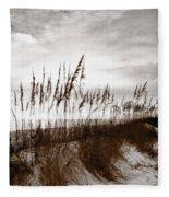 Sea Oats 1 Fleece Blanket