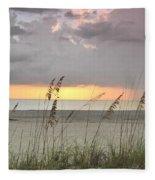 Sea Oats - Boca Grande Fleece Blanket