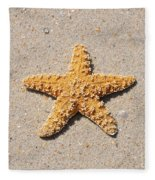 Sea Star Fleece Blanket