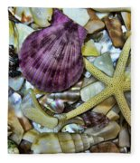 Sea Treasure - Landscape Fleece Blanket