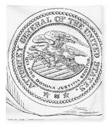 Seal: Attorney General Fleece Blanket