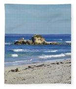 Seal Bay Beach Fleece Blanket