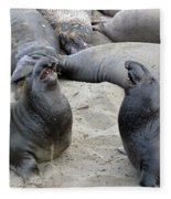 Seal Spa. Men's Talk2 Fleece Blanket