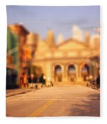 Seaport Tiltshift Fleece Blanket