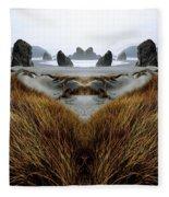 Seascape 1 Fleece Blanket
