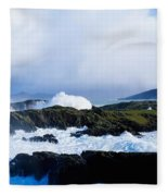 Seascape, West Cork, Ireland Fleece Blanket