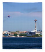 Seattle - American City Fleece Blanket