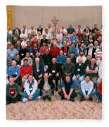 Seattle Archdiocese 2008 Priests. Fleece Blanket