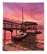 Sebring Sailing Fleece Blanket