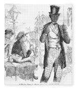 Secession Crisis, 1861 Fleece Blanket