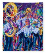 Second Line Fleece Blanket