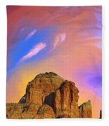 Sedona Glow Fleece Blanket