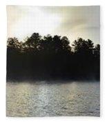 Seine River Beauty Fleece Blanket