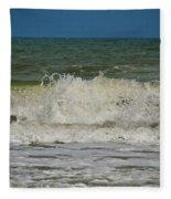 September Beach 2 Fleece Blanket