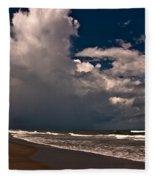 September Beach Fleece Blanket