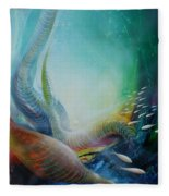 Serpula Spiralis Fleece Blanket
