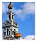 Sevier County Courthouse Fleece Blanket