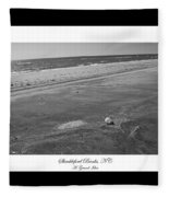 Shackleford Banks A Grand Idea Fleece Blanket