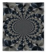 Shades Of Grey Fleece Blanket