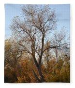 Shadow Cliff Tree Fleece Blanket